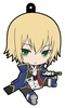 photo of BlazBlue Petanko Trading Rubber Strap: Jin Kisaragi