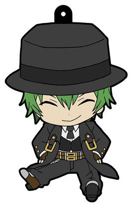 main photo of BlazBlue Petanko Trading Rubber Strap: Hazama