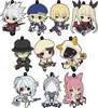 photo of BlazBlue Petanko Trading Rubber Strap: Hakumen