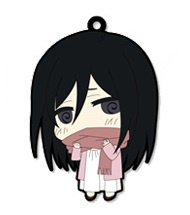 main photo of Attack on Titan Trading Rubber Strap: Mikasa Ackerman Childhood ver.