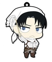 main photo of Attack on Titan Trading Rubber Strap: Levi Cleaning ver.