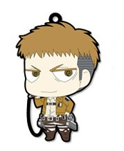 main photo of Attack on Titan Trading Rubber Strap: Jean Kirstein