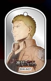 main photo of Attack on Titan Metal Dog Tag: Reiner Braun
