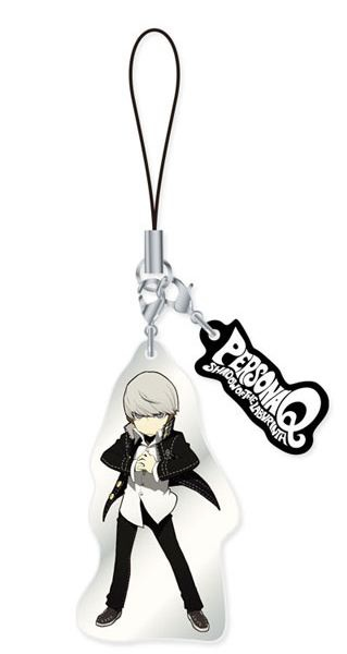 main photo of Persona Q ~Shadow of the Labyrinth~ Metal Strap Vol.1: P4 Protagonist