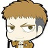 Attack on Titan Trading Rubber Strap: Jean Kirstein