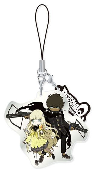 main photo of Persona Q ~Shadow of the Labyrinth~ Metal Strap Vol.2: Rei & Zen