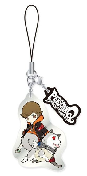 main photo of Persona Q ~Shadow of the Labyrinth~ Metal Strap Vol.1: Ken Amada & Koromaru
