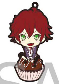 main photo of Diabolik Lovers Trading Rubber Strap: Sakamaki Ayato