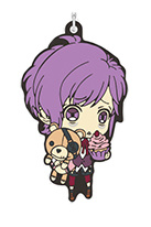 main photo of Diabolik Lovers Rubber Strap Collection: Sakamaki Kanato