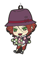 main photo of Diabolik Lovers Rubber Strap Collection: Sakamaki Laito