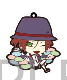 main photo of Diabolik Lovers Trading Rubber Strap: Sakamaki Laito