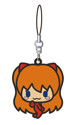 main photo of EVANGELION micro macro: Asuka Langley Rubber Strap C