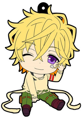 main photo of Petanko Karneval Trading Rubber Strap: Yogi
