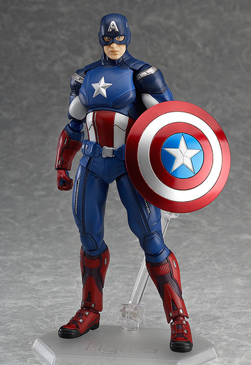 main photo of figma Captain America