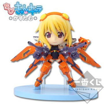main photo of Ichiban Kuji IS: Infinite Stratos -2nd ACCEL-: Charlotte Dunois Chibi Kyun-Chara