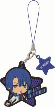 main photo of Ichiban Kuji Kyun-Chara World Uta no☆Prince-sama♪ Maji Love 1000% Rubber Strap: Hijirikawa Masato
