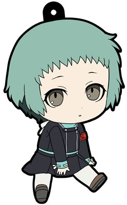main photo of Petanko Persona 3 the Movie Trading Rubber Strap: Fuuka Yamagishi