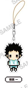 main photo of Haikyu-!! Puchipitto Strap Collection: Hajime Iwaizumi