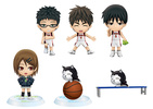 photo of Kuroko no Basket ~After the Game~ Chibi Kyun-Chara Vol.2: Aida Riko