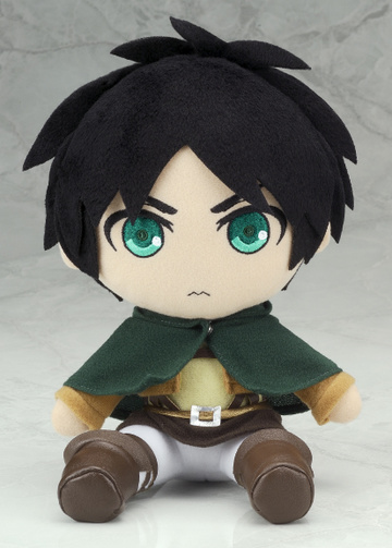 main photo of Shingeki no Kyojin Plushie Series: Eren Yaeger
