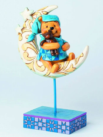 main photo of Disney Traditions ~Bedtime Bear~ Pooh on Moon
