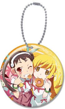 main photo of Monogatari Series Second Season Character Reflector: Mayoi Hachikuji & Shinobu Oshino