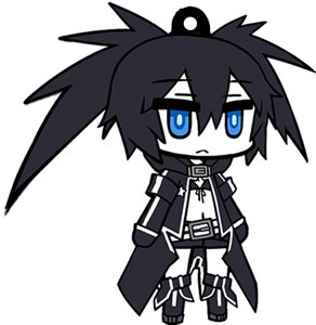main photo of Black Rock Shooter Rubber Strap: Black Rock Shooter
