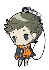main photo of HappyKuji Persona 3 the Movie 2: Amada Ken Rubber Strap