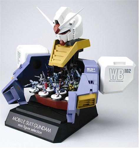 gundam mini figure selection bust type display case my anime shelf. Black Bedroom Furniture Sets. Home Design Ideas