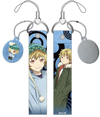 main photo of Noragami Smartphone Wide Strap with Cleaner: Yukine