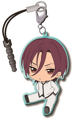 main photo of Free! Trading Metal Charm Strap Vol.2: Matsuoka Rin