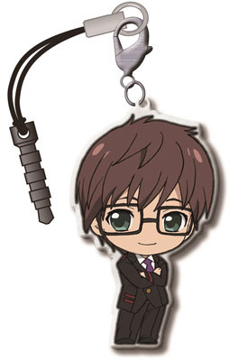 main photo of Noragami Trading Metal Charm Strap: Kazuma