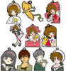 photo of Cardcaptor Sakura Rubber Strap Collection: Touya