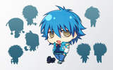 photo of DRAMAtical Murder Trading Chimi Figure Collection: Clear