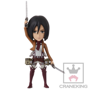 main photo of Shingeki no Kyojin World Collectable Figure vol.1: Mikasa Ackerman