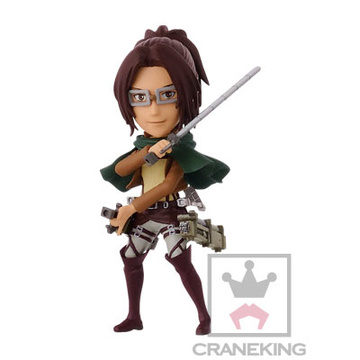 main photo of Shingeki no Kyojin World Collectable Figure vol.1: Hange Zoe