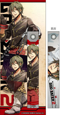 main photo of GOD EATER 2 Cellphone Strap & Cleaner: Haruomi Makabe