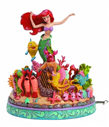 main photo of Disney Traditions ~Under the Sea~ Ariel Musical Statue