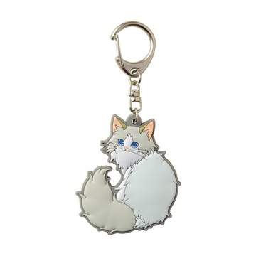 main photo of Pic-Lil! Nyanko Rubber Keychain: Ragdoll