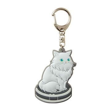 main photo of Pic-Lil! Nyanko Rubber Keychain: Persian Cat