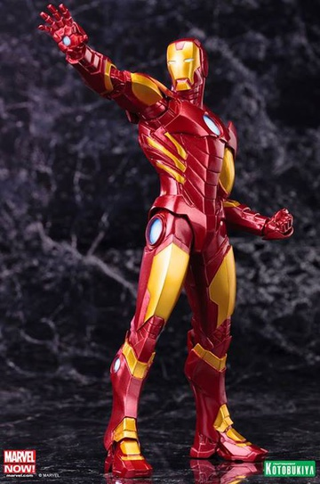 main photo of ARTFX+ Avengers Marvel NOW!: Iron Man [RED X GOLD]