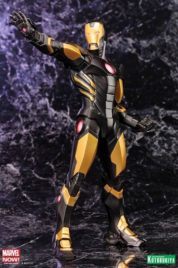 main photo of ARTFX+ Avengers Marvel NOW!: Iron Man [BLACK X GOLD]