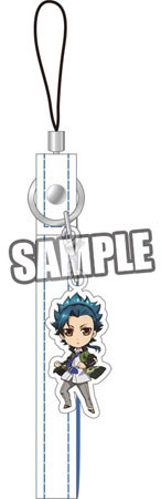 main photo of Kamigami no Asobi Cellphone Strap: Takeru Totsuka