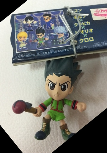 main photo of Hunter x Hunter Figure Key Holder 2: Gon Freecss