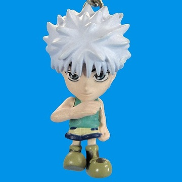 main photo of Hunter x Hunter Figure Key Holder 2: Killua Zoldyck