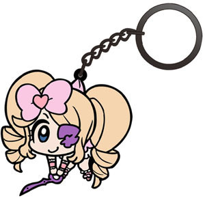 main photo of Kill la Kill Tsumamare Pinched Keychain: Harime Nui