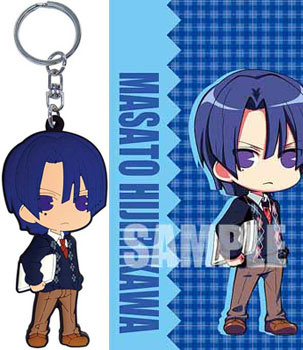 main photo of Uta no Prince-sama Rubber Mascot: Masato Hijirikawa