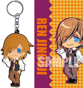 main photo of Uta no Prince-sama Rubber Mascot: Ren Jinguuji