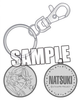 photo of Uta no Prince-sama Maji LOVE 1000% Medal Keychain: Natsuki Shinomiya