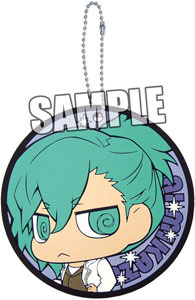 main photo of Uta no Prince-sama Coaster Shaped Rubber Keychain: Ai Mikaze